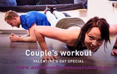 Valentine's Day la sala de fitness!